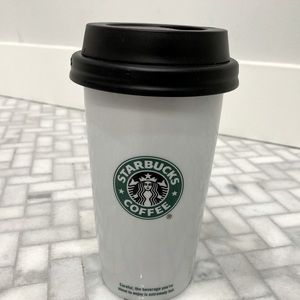 STARBUCKS CERAMIC CUP - 12 ounces